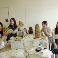 ランプシェード彫り体験(風景)のサムネイル